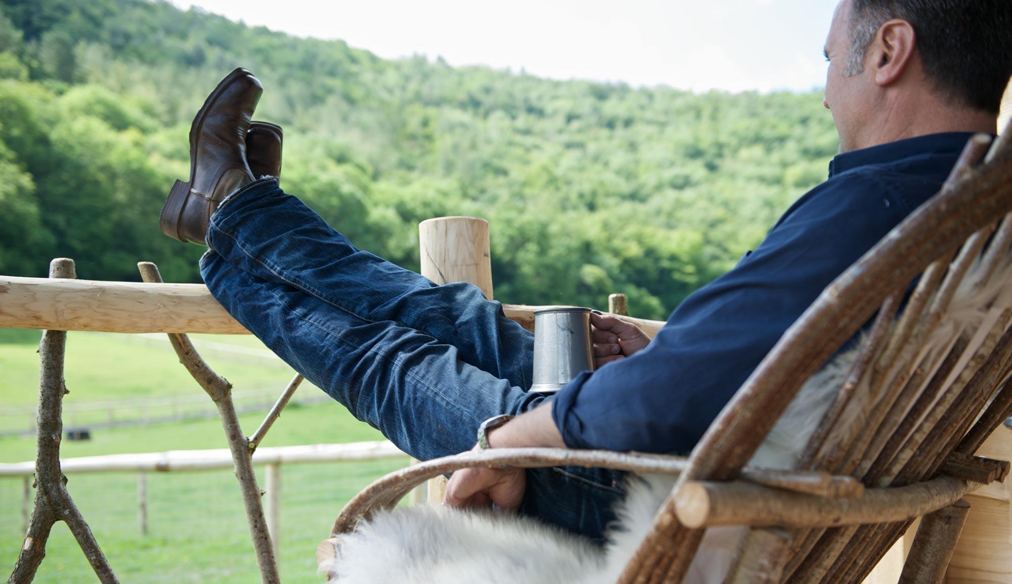 Relax at Loose Reins | Loose Reins