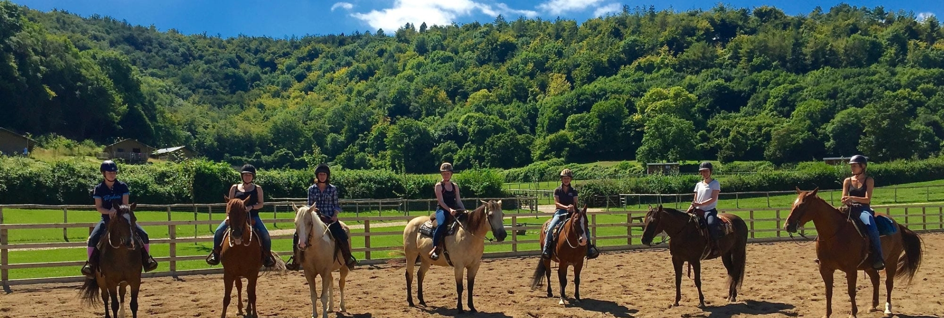 Horseback riding in Dorset