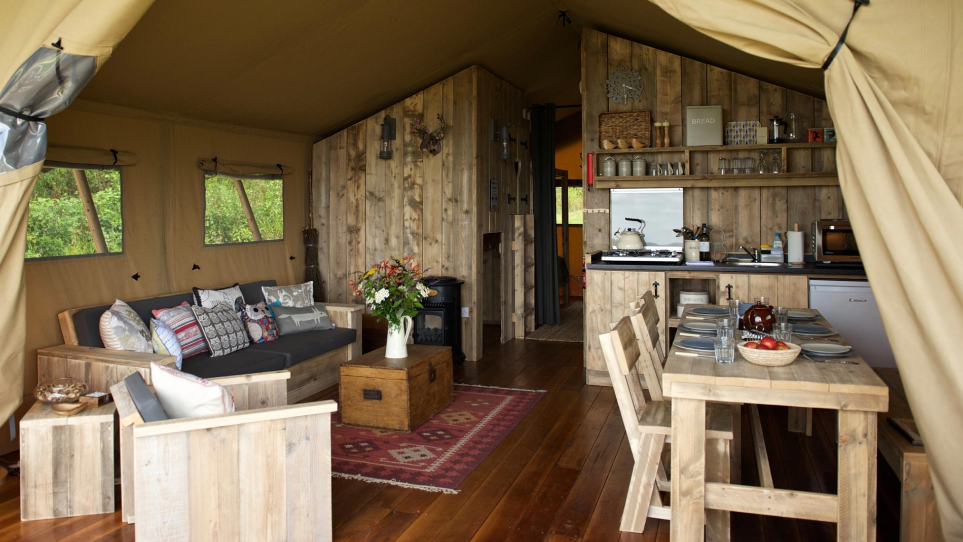 Glamping Special Offer Dorset