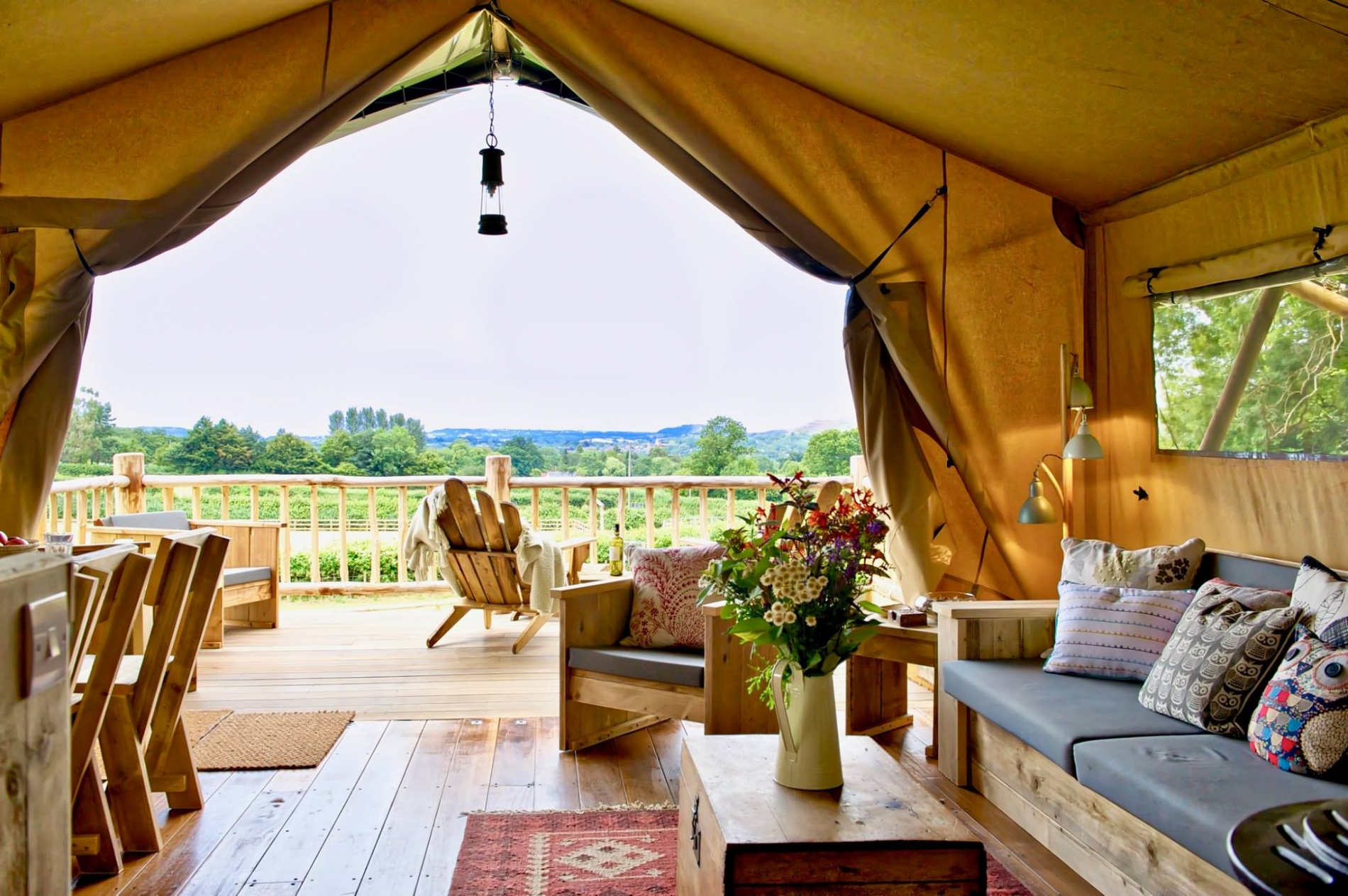 Dorset Glamping special Offer