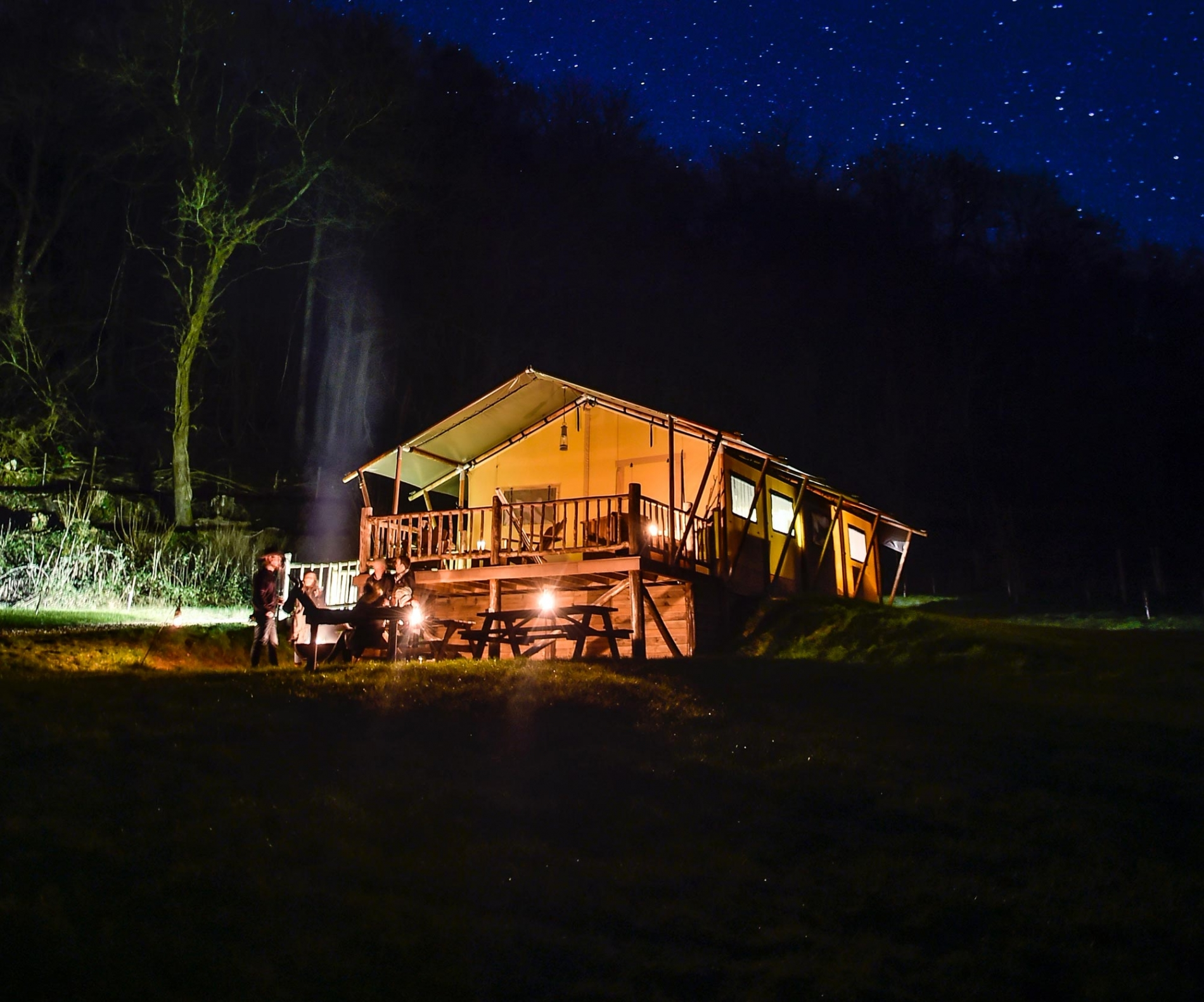 Glamping Gift Vouchers at Loose Reins Dorset