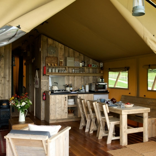Lots of room to Cook in Loose Reins lodges