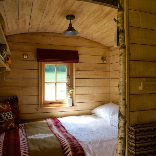 Single Rooms at Loose Reins Cabins