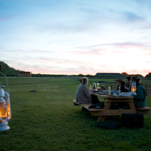 Glamping Picnics at Loose Reins
