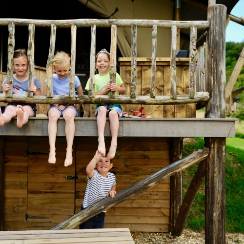 Family Glamping Activites at Loose Reins