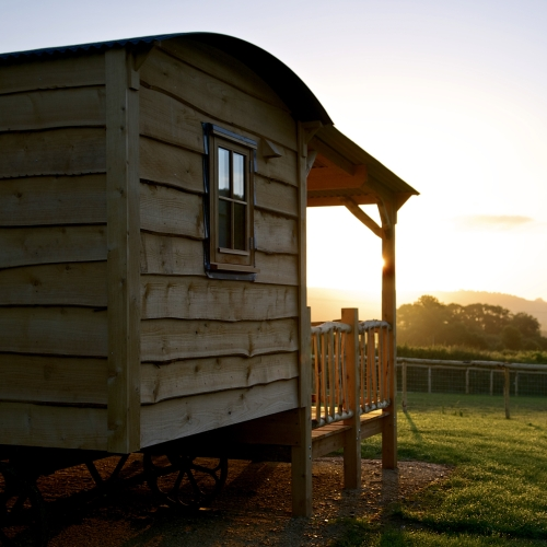 Glamping Lodges at Loose Reins